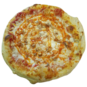 Jenny Lynd's Buffalo Chicken Pizza