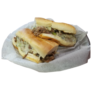Jenny Lynd's Pizza - Philly Steak Sandwich
