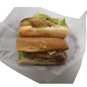 Crispy Chicken Sub Sandwich at Jenny Lynd's Pizza